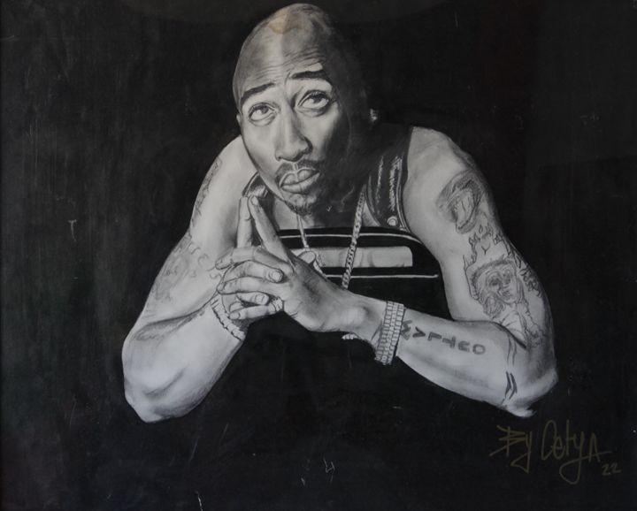 Tupac - Lola Bouli Artwork