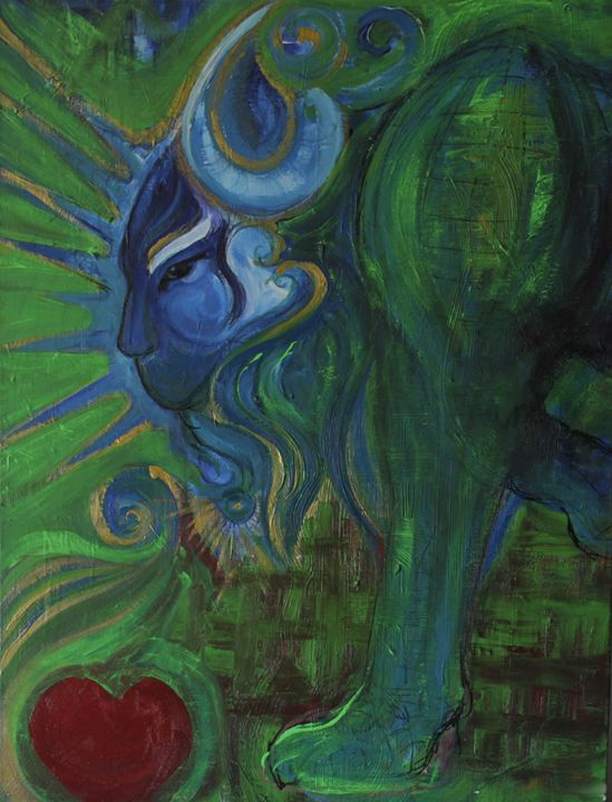 The beast and the apple - Lola Bouli Artwork