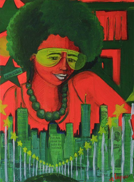 Political Funk - Lola Bouli Artwork