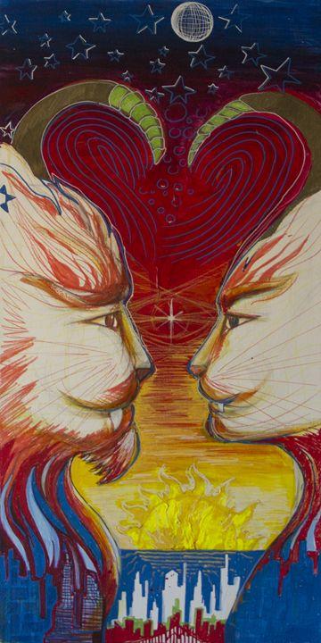 Sunset dreams - Lola Bouli Artwork