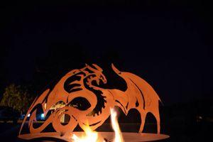 FireSphere shown burning