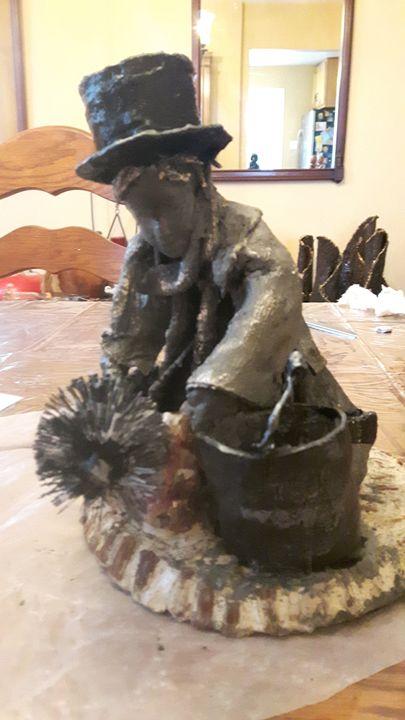 A Dirty Job - Designer Gourds and sculptures
