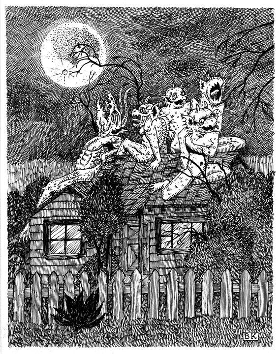 Roof Demons - Bretton Kreye