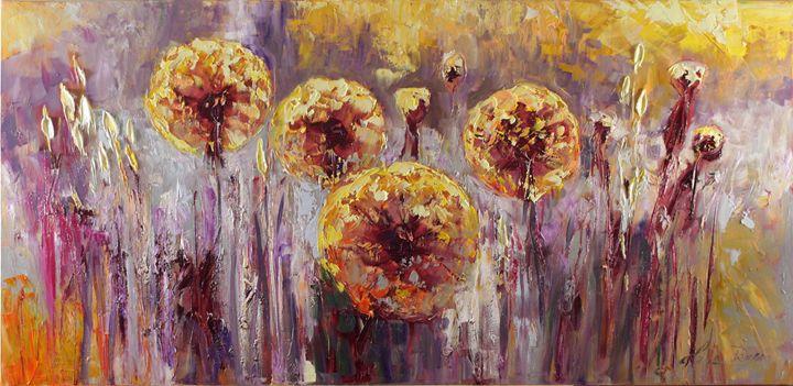 Summer dandelions - Margaret Raven Gallery