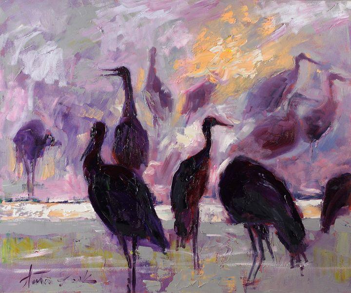 Morning birds - Margaret Raven Gallery