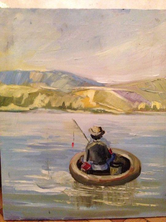 Oil painting, Wall art, Modern art - Barbare Art