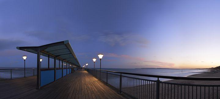 Boscombe Pier at dusk - Gem Photography