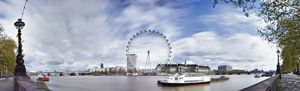 London Eye Panoramic - Gem Photography