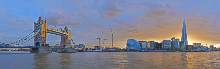 The Shard and Tower Bridge - Gem Photography