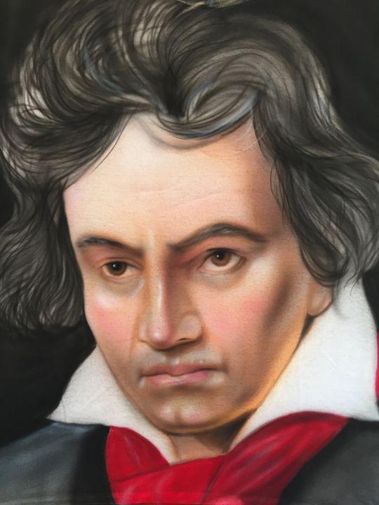 Beethoven portrait - Jeff's Art
