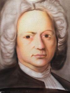 Bach portrait