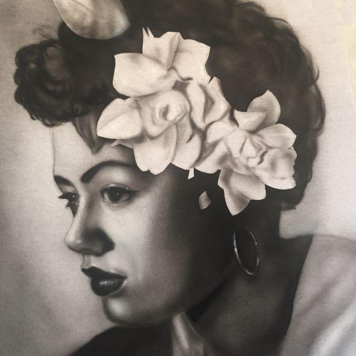 Billie Holiday - Jeff's Art