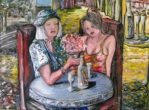 ART LUNCH LADIES BY JAIMS