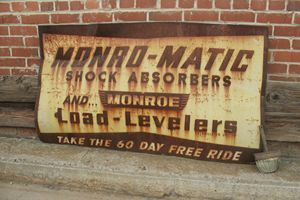 Rusted Sign