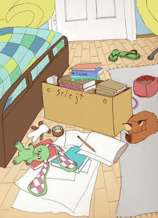 Messy Room - AnnaRebeka