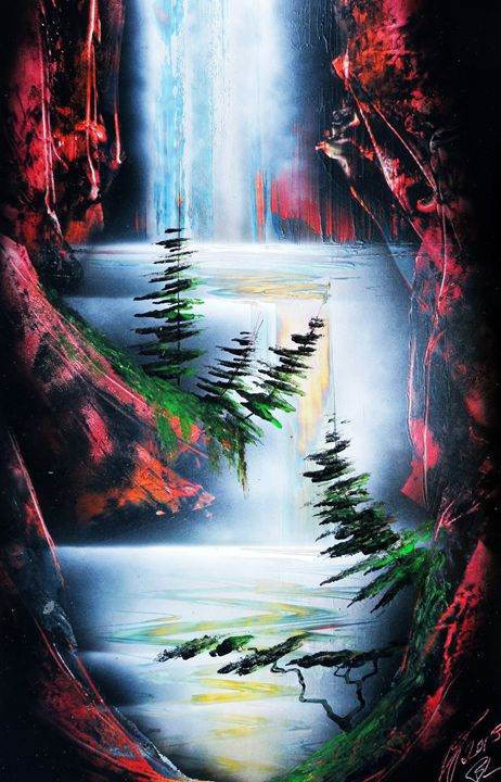 Waterfall cave - Robin Seagrave