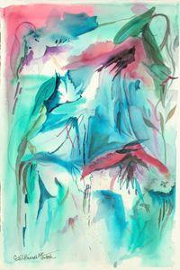 Falling Fuchsia - Gail H. McIntosh