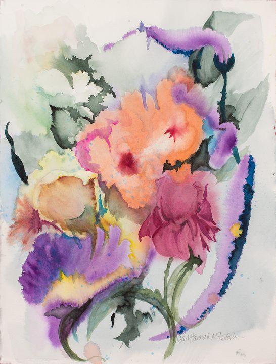 Romantic Bouquet - Gail H. McIntosh