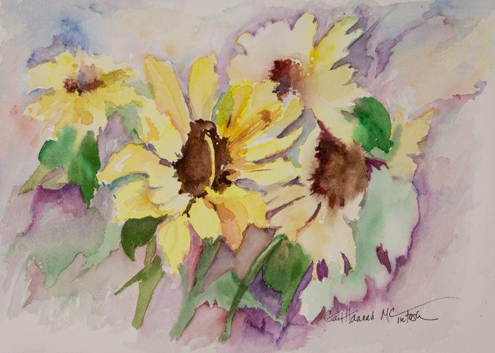 Sunflower Laughs - Gail H. McIntosh
