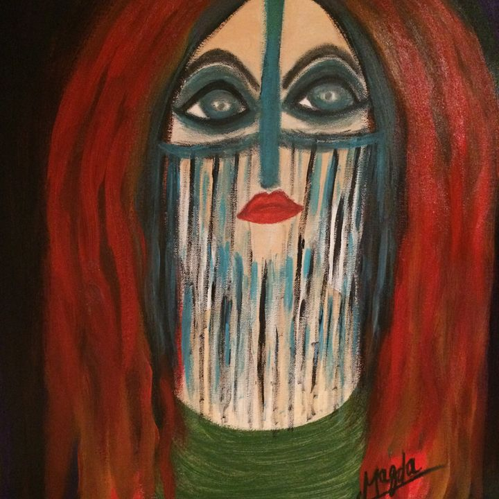 The Egyptian Woman's Revaluation - Magda Loves to Paint