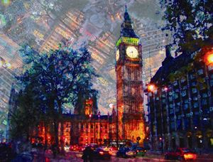 Atardecer en Londres 2