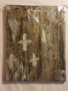 Old Rugged Cross Art work