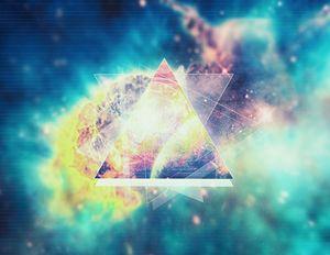 Awsome collosal deep space triangle