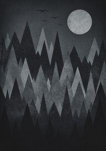Geometric Triangle Peak Wood's
