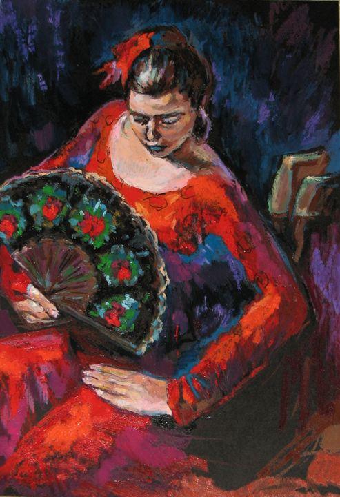In Flaminco dance - Luda Angel