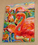 The etude of Flamingos