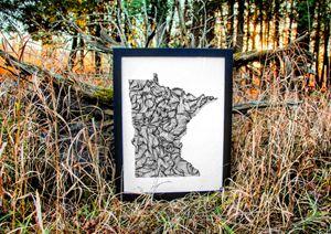 Minnesota Wanderer - 18x24