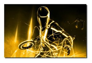 Tron-Gold Canvas Art, size A1!