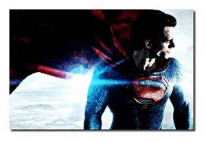 Superman/Man Of Steel Canvas Art