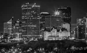Edmonton Skyline close up