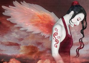 Earthbound Angel - Self Portrait