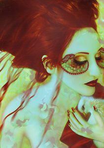 The Bleeding Dream - Self Portrait