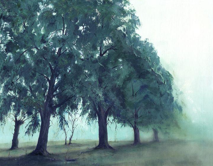 Summer Haze - kenneth Karls Fine Art