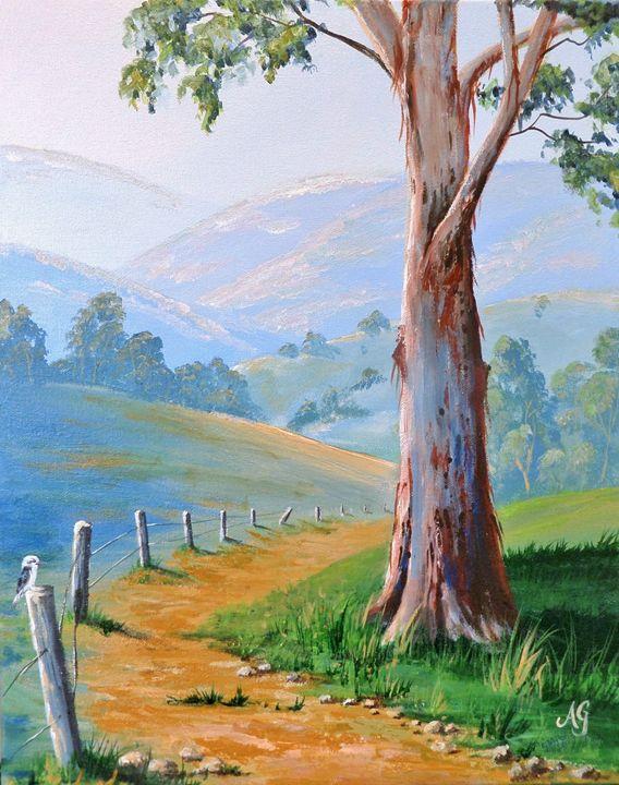 The gum tree - Annies art
