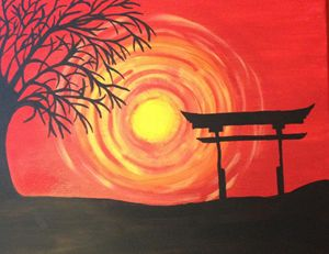Asian Sunset