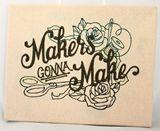 embroidered artwork