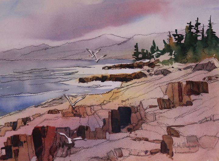 Looking South - keiththompsonart
