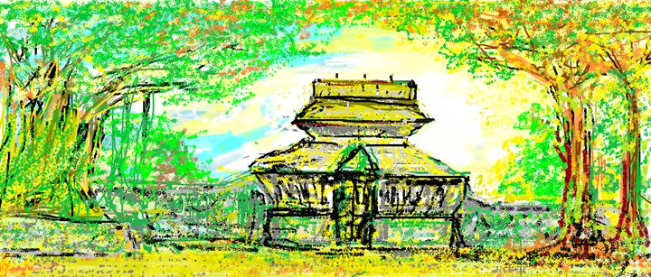 temple in god's own country - unni's perceptive