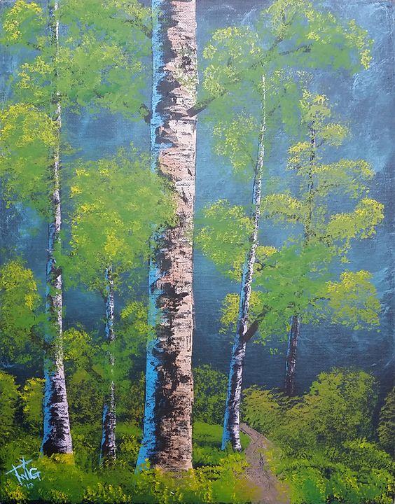 "Birch Trees - Chris ""TWiG"" Jelen"