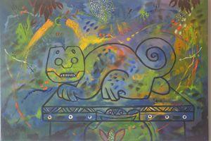 Precolumbian Cat / Gato Precolombino