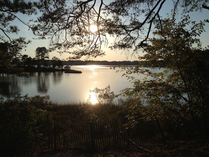 Sunset Over Lake 2 - Diane Ong