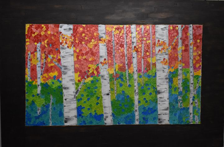 The Beauty Of The Birches - Paintings