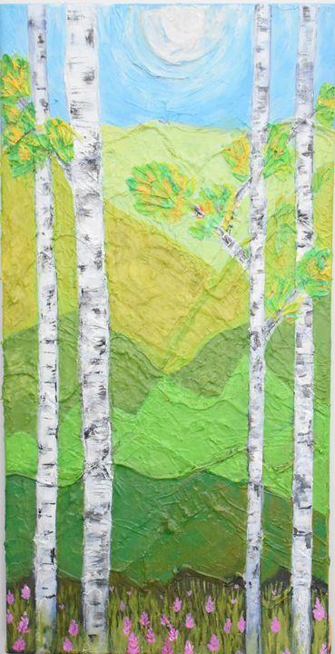 Aspens - Paintings