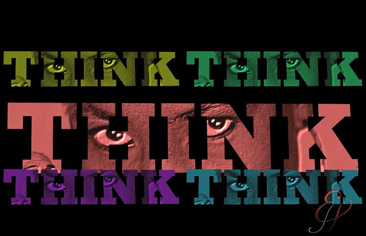 THINK Multicolored - Jeanné Wynne Herring