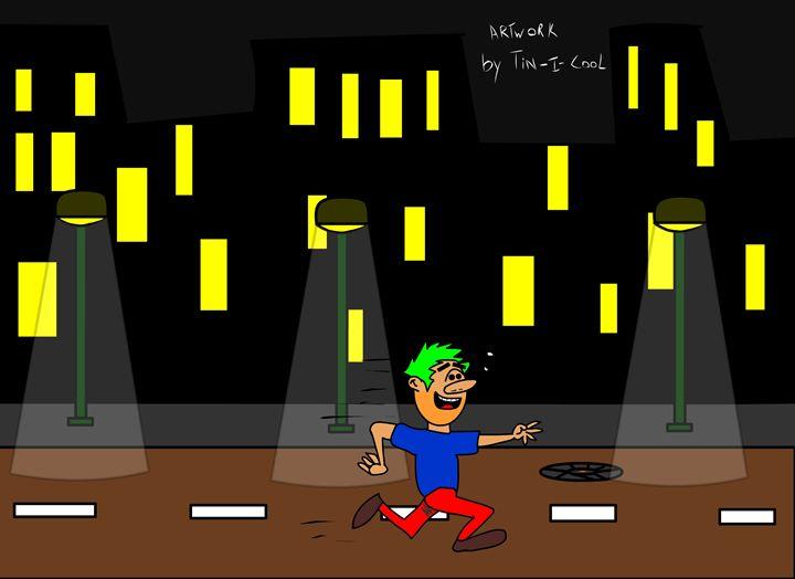 Running Man - Tin I Cool Studios