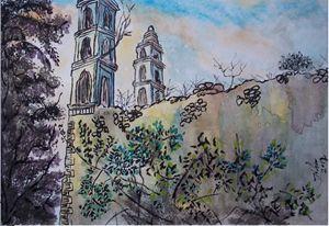 Ek Balam Abandoned Church in Yucatan